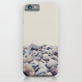 Pebbles on the edge of Lake Konstance, Germany  iPhone Case