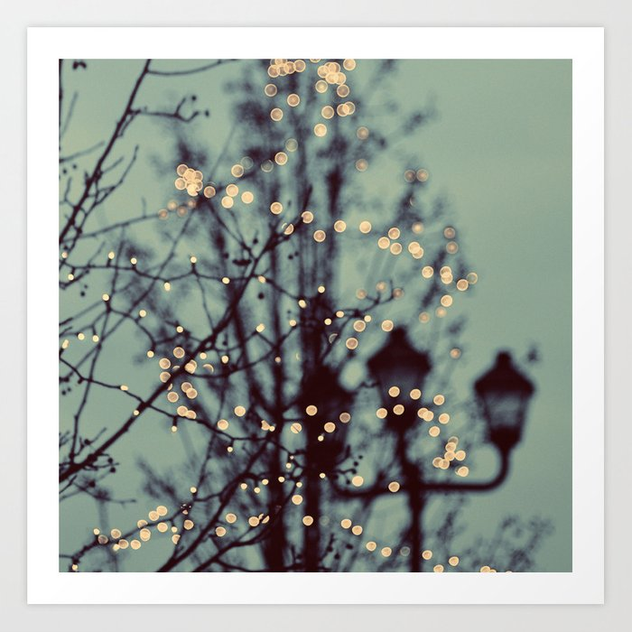 Winter Lights Art Print