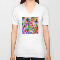 circles V-neck T-shirts featuring *Circles***** by Mr and Mrs Quirynen