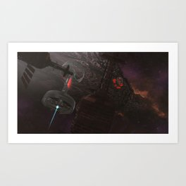 The Arrival Art Print