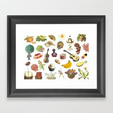 pop miscellany Framed Art Print