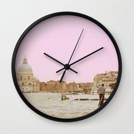 Venice in a Dream Wall Clock