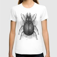 beetle T-shirts featuring Beetle by Salih Gonenli
