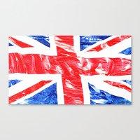 uk Canvas Prints featuring UK by arnedayan
