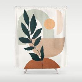Soft Shapes IV Shower Curtain