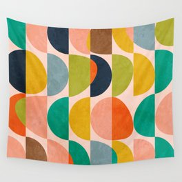 shapes abstract II Wall Tapestry