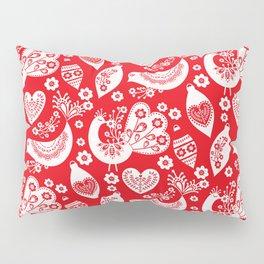 Scandinavian Christmas Pattern 04 Pillow Sham