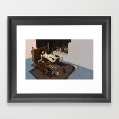 H_H Framed Art Print