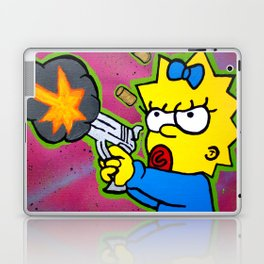 Don't Mess With Baby Laptop & iPad Skin