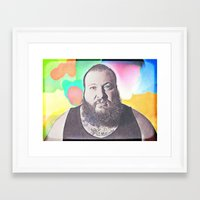 action bronson Framed Art Prints featuring Action Bronson by Enna