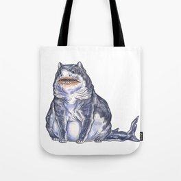 Great White Shark Cat :: Series 1 Tote Bag