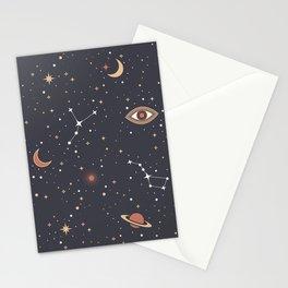 Mystical Galaxy Stationery Cards