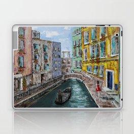 Venice Girl & Gondola Laptop & iPad Skin