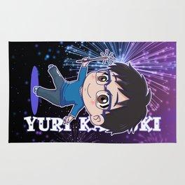 Yuri Katsuki Fireworks Version Rug