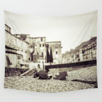 antique Wall Tapestries featuring [Antique] by Mathias Rat