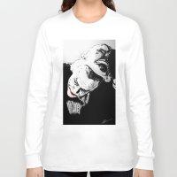 superheros Long Sleeve T-shirts featuring Man Behind The Mask by KODYMASON