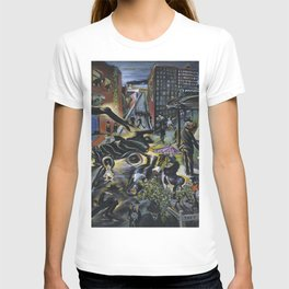 American Masterpiece 'Automobile Accident' by Howard Taft Lorenz T-shirt
