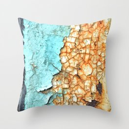 Two Faced Throw Pillow