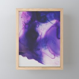 Violet Aura Framed Mini Art Print