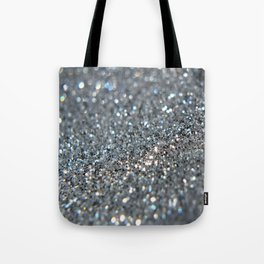 Silver Dust Tote Bag