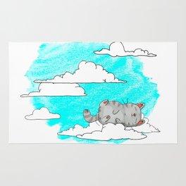Sky Cat Rug