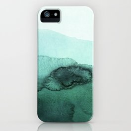 inkblot pastels 2 iPhone Case