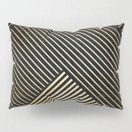 Golden polygon XV Pillow Sham