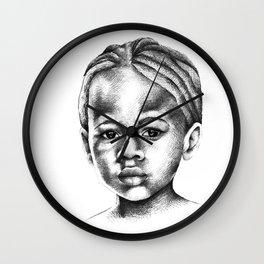 Ebony Wall Clock