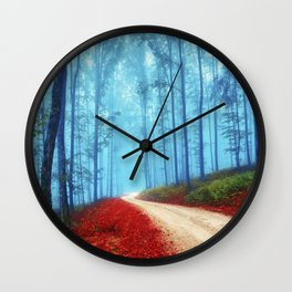 Fall for her Wall Clock