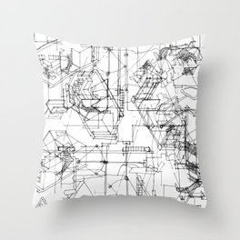 archisketch Throw Pillow