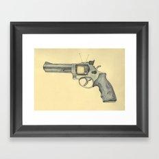 killer television Framed Art Print