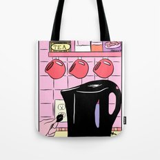 Making Tea: Plug In Your Kettle Tote Bag