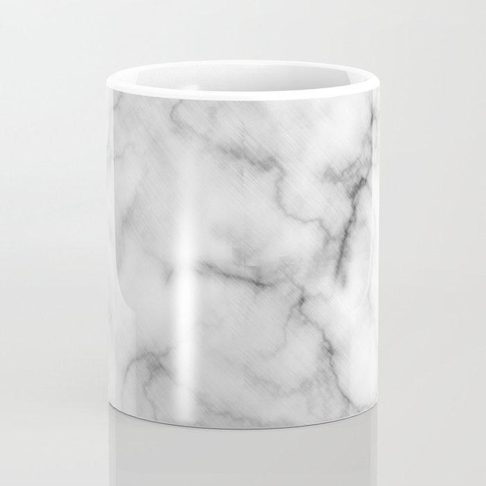 WHITE MARBLE Coffee Mug