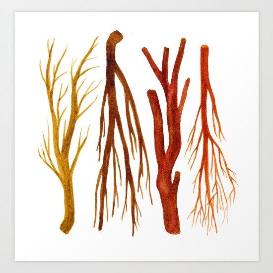 sticks no. 6 Art Print