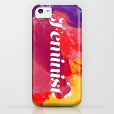 Feminism Watercolor iPhone 5c Slim Case