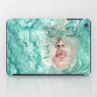 breathe iPad Cases featuring Breathe by Pendientera