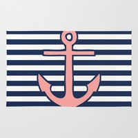 anchor Area & Throw Rugs featuring Anchor by dani