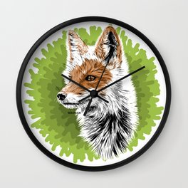Fox - Zorro Wall Clock