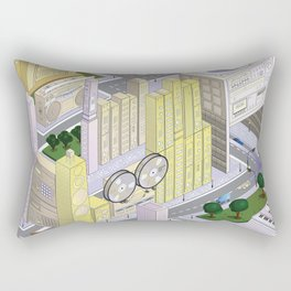uchi village part 1 Rectangular Pillow