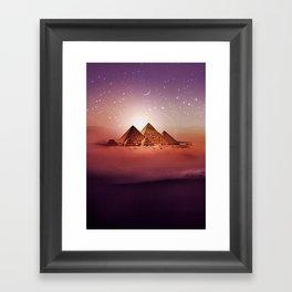 Station Pyramid Framed Art Print