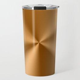 Copper Tones Stainless Steel Print Travel Mug