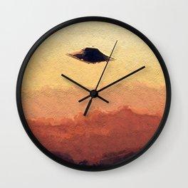 Flying Saucer Wall Clock