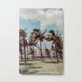 Miami   Fine Art Travel Photography Metal Print