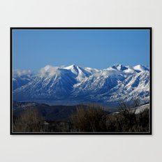 View of the Sierra Nevada Canvas Print