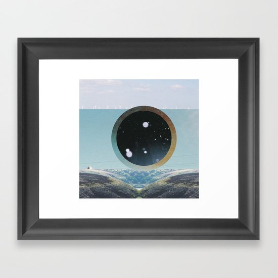 Last Night We Went To Space But I Knew It Was A Dream Even Before I Woke Up Framed Art Print