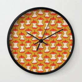 Apple Cores  Wall Clock