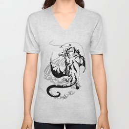 A Dragon from your Subconscious Mind #12 Unisex V-Neck