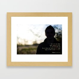 -To be Found Framed Art Print