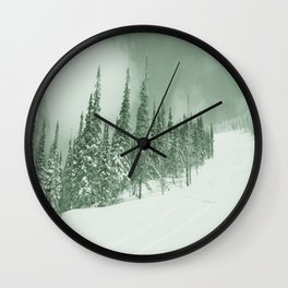Winter day 22 Wall Clock