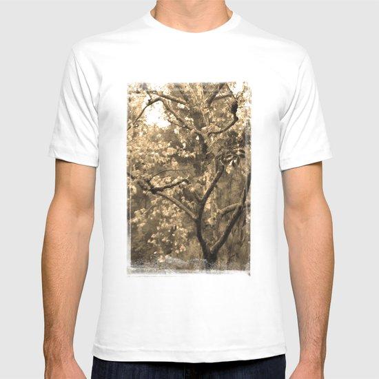 Tree of Hearts - Sepia T-shirt